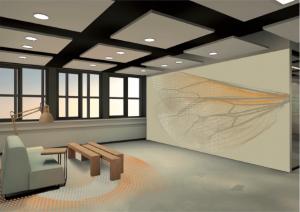 Het Nieuwe Kantoor : Bee in media bv de verbouwing van het nieuwe kantoor is
